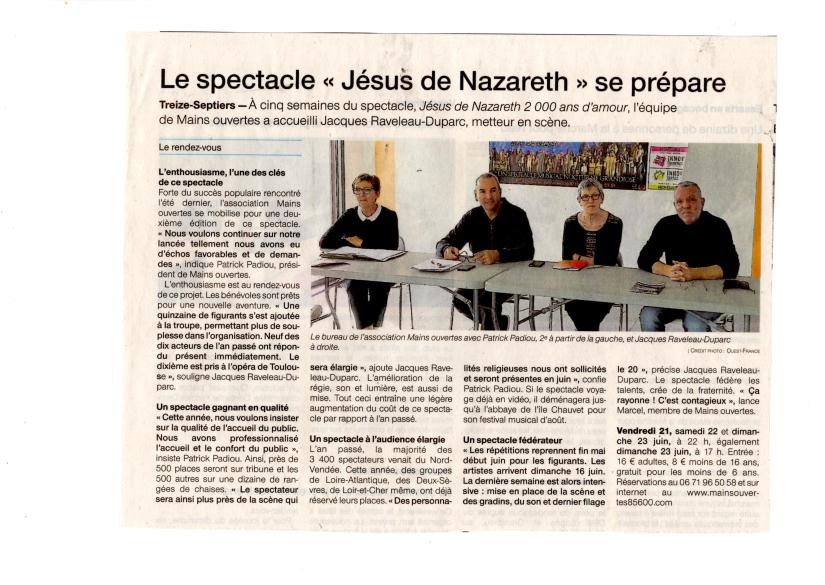 Article OF du 22 Mai 2019